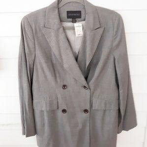 Express Gray Blazer NWT Size 11/12